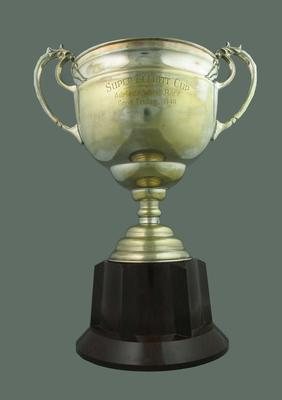 Trophy for Adelaide Wheel Race 1940, won by Keith Thurgood