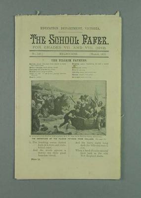 The School Paper no.149, March 1912