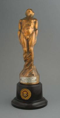 Trophy for LSAW State Road Championship 1951, won by Keith Thurgood