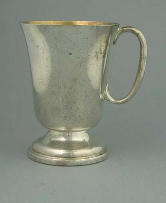 Trophy - Tankard/cup with handle, Uninscribed, associated with E. Milliken