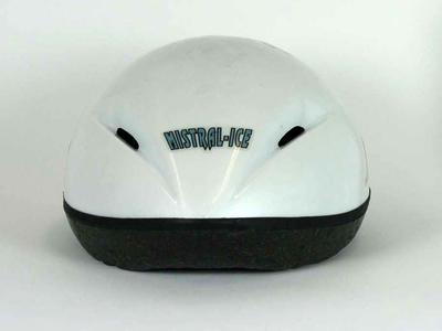 Helmet, worn by Steve Bradbury at 2002 Salt Lake City Olympic Games