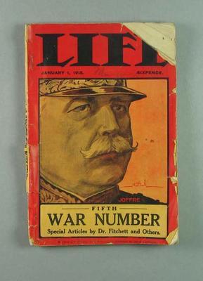 LIFE magazine, 1 January 1915