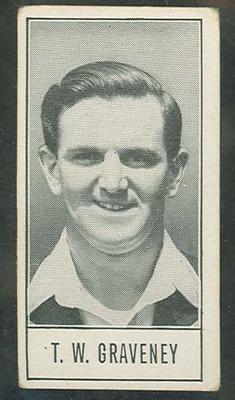 1957 Barratt & Co Ltd Test Cricketers Series B Tom Graveney trade card