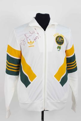 1988 Australian Olympic team tracksuit jacket, worn by Duncan Armstrong