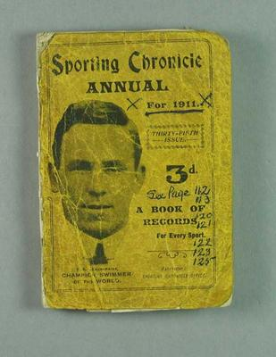 Sporting Chronicle Annual no.35, 1911