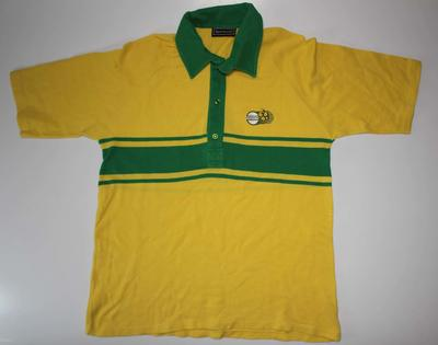 T-shirt worn by Peter Faulkner, 1985 World Championship of Cricket