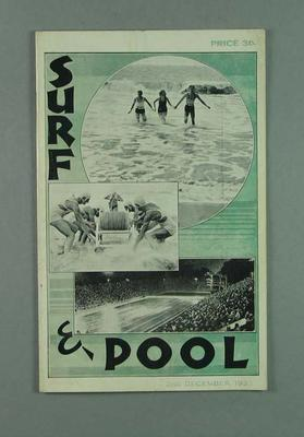 Surf and Pool, 2 December 1933