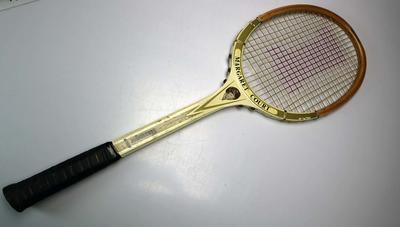 Slazenger 'Margaret Court' endorsed racquet, circa 1960s-70s.