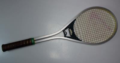 Dunlop Volley racquet used by Evonne Goolagong Cawley, circa late 1970s/early 1980s.