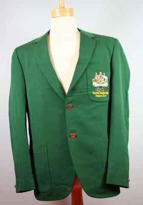 Blazer worn by Bill Roycroft, Mexico City Olympic Games, 1968