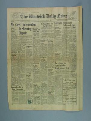 Warwick Daily News, 30 May 1956