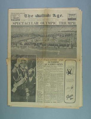 The Age, 23 November 1956