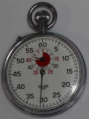Stopwatch used by Fred Farrell for VFL Grand Final, 1966