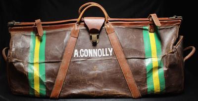 Alan Connolly's equipment bag, 1964