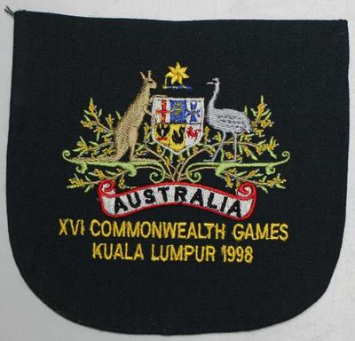Blazer badge issued to Nova Peris-Kneebone, Kuala Lumpur Commonwealth Games, 1998