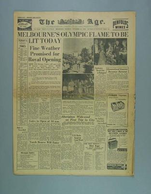 The Age, 22 November 1956