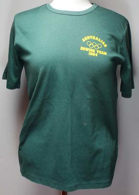 Australian rowing team t-shirt, Los Angeles Olympic Games 1984