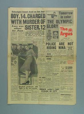 The Argus, 20 November 1956