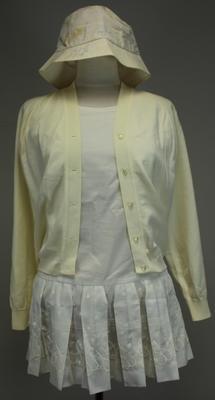 Usherette uniform, Davis Cup at Kooyong, 1966