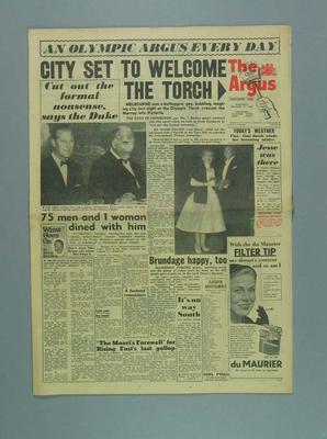The Argus, 21 November 1956