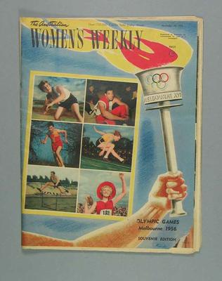 The Australian Women's Weekly Olympic Games souvenir edition, 28 November 1956