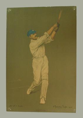 Lithograph print picturing Reginald Foster, c1905