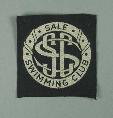 Cloth badge, Sale Swimming Club