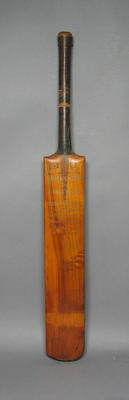 Cricket bat, Maryborough District Cricket Club Highest Batting Average 1875-76