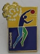 Badge worn by Barry Minster at the Brisbane 2001 Goodwill Games; Civic mementoes; N2018.17.16