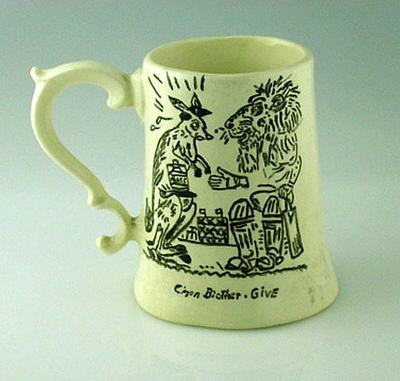 Mug, image associated with the Ashes