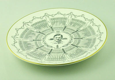 "Plate, ""Sir Leonard Hutton - A Century of Centuries"""