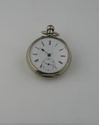 Pocket watch, late 19th century