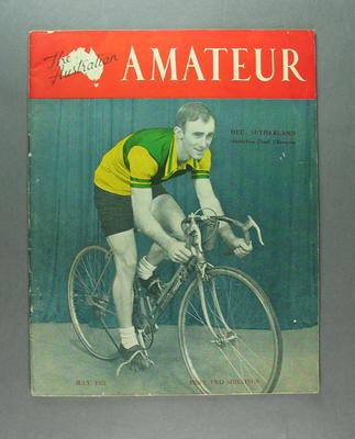 Magazine - The Australian Amateur, Vol 1 No 2 July 1951, cover Hec. Sutherland