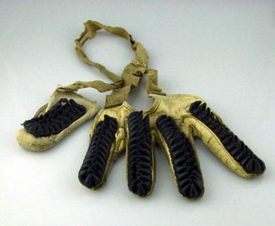 Single batting glove, circa 1920
