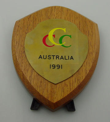 Shield - Club Cricket Conference 1991