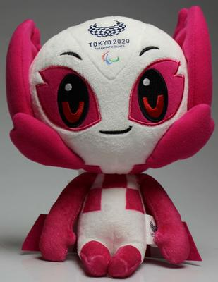 Plush toy, 'Someity', Tokyo 2020 Paralympic Games mascot
