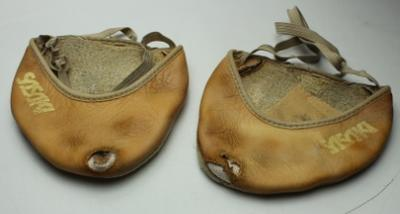 Toe shoes, worn by Alexandra Kiroi-Bogatyreva at the 2018 Gold Coast Commonwealth Games.