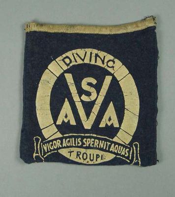 Blazer pocket, Victorian Amateur Swimming Association Diving Troupe