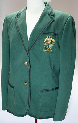 London 2012 Australian Olympic team blazer, worn by Wendy Braybon