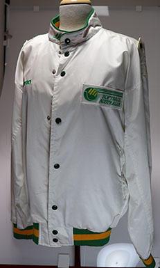 Softball Australia bomber jacket, worn by Wendy Braybon circa 1990s