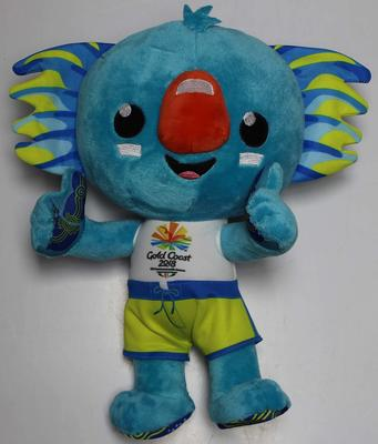 Soft toy mascot 'Borobi', 2018 Gold Coast Commonwealth Games.