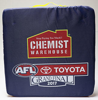 AFL Grand Final Chemist Warehouse cushion, 2017