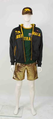 Australian Hide and Seek team uniform worn by captain Alan Jones, 2017