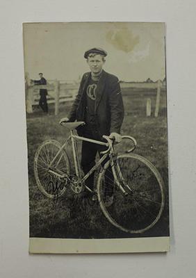 Postcard photograph of Iddo 'Snowy' Munro, circa 1910s.