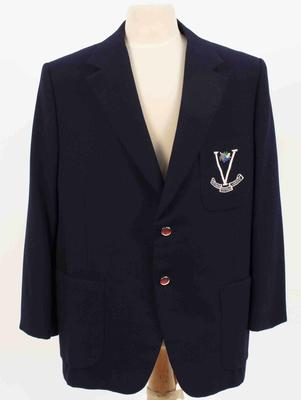 Victorian Football League blazer worn by Sir Maurice Nathan, c.1970s