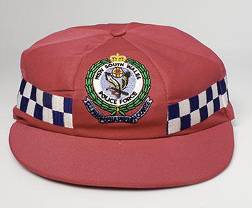 NSW Police Force Pink Test cap, worn by Detective Superintendent Gavin Dengate