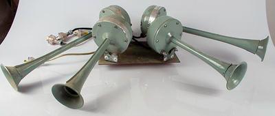 Electromechanical Stadium siren, used at the MCG until 2014
