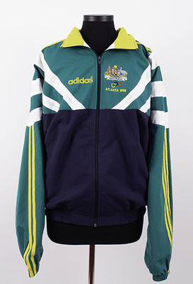 Australian team jacket worn by Kerri Pottharst, Atlanta 1996 Olympic Games; Clothing or accessories; 2019.2.4