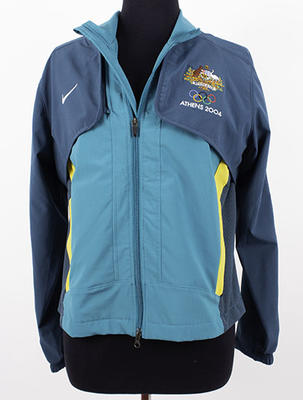 Australian team jacket worn by Kerri Pottharst, Athens 2004 Olympic Games