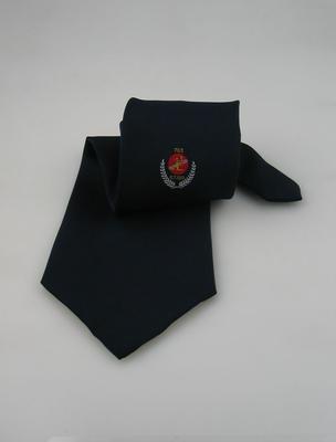 Tie, commemorating Glenn Turner's 100th century